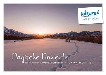 Magische Momente Winter 2017/2018