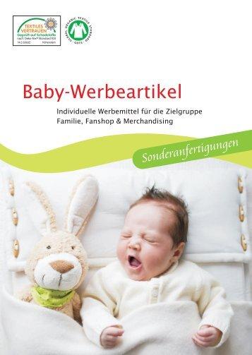 Werbeartikel Baby 2017