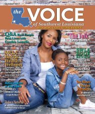 The Voice of Southwest Louisiana October 2017 Issue