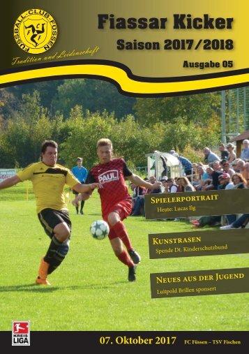 12.Spieltag FC Füssen - TSV Fischen