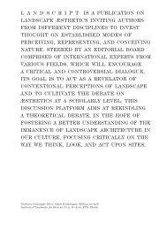 Landscript 5: Material Culture – Assembling and Disassembling Landscapes