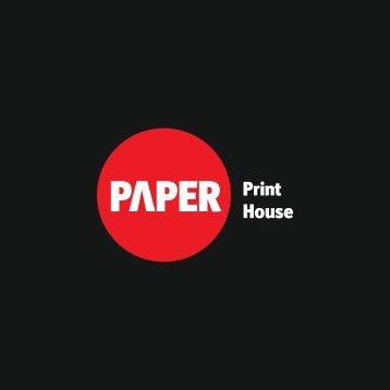 Paper Print House Katalog