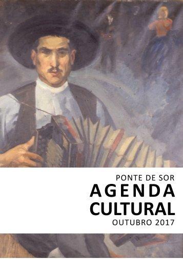 Agenda Cultural de outubro 2017