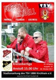 08.10.2017 - Stadionzeitung Bunstruht / Bürgeln