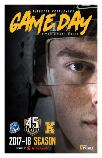 Kingston Frontenacs GameDay September 23, 2017