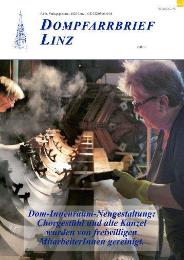 Dompfarrbrief Linz 2017-03