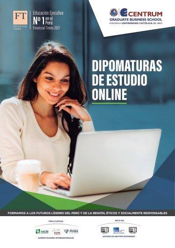 Diplomaturas de estudio online