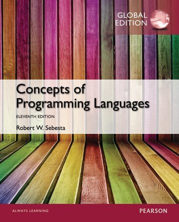 concepts of programming languages Concepts of programming languages is ideal for undergraduate students in computer science and computer programming courses it is an ideal reference encapsulating the history and future of programming languages.