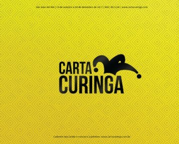 Carta Curinga São João 04ª Ed