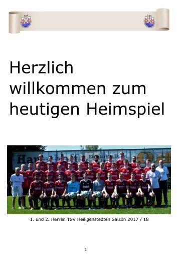 2017_10_07 Ausgabe 6 Juliankadammreport 11. Spieltag TSV Weddelbrook