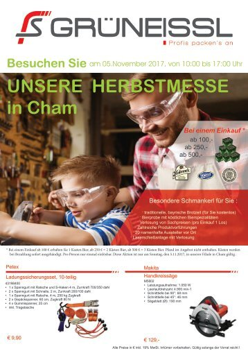 Herbstmesse 2017 in Cham