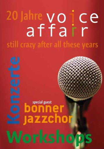 20 Jahre Voice Affair