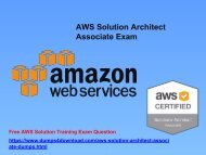 How To Pass Amazon AWS Solution Architect Associate Exam In Easy Way