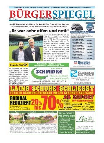 Oktober 2017 | Bürgerspiegel