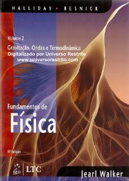 Halliday - Física 1 - Vol 2- 8ª Ed