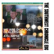 The Southwest Chronicle Edu & Dick Poe Dealerships 2017