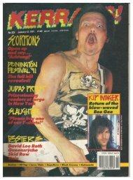 Kerrang 350 July 20th   1991