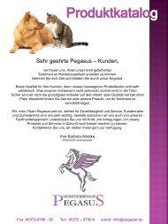 Pegasus Katalog  2017