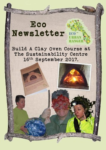 Clay Oven newsletter 16092017