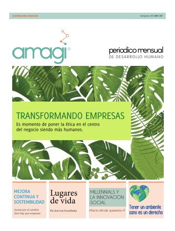 Periodico Amagi Octubre 2017