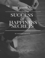Happiness & Sucess Secret