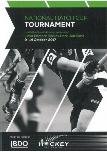 2017 Hatch Cup Programme