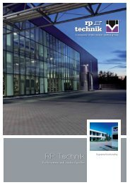 RP Technik General Brochure