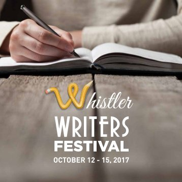 Whistler Writers Festival 2017 Program Guide