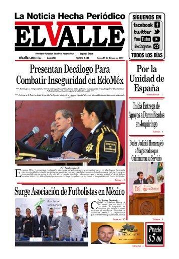 Edición del día Lunes 09 de Octubre