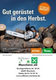 Das STIHL KombiSystem - Raiffeisen Mannheim