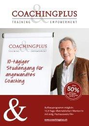Coaching-Studiengang