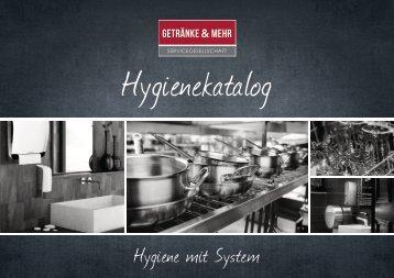Hygienekatalog - Hygiene mit System