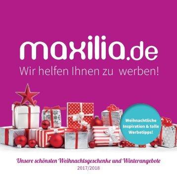 Maxilia.de - Weihnachtskatalog