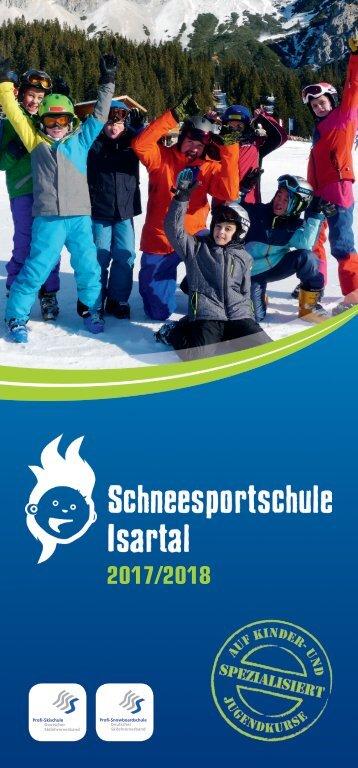 Schneesportschule Isartal Prospekt 2017/2018
