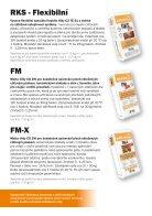Zateplovací systémy quick-mix s povrch. úpravou cihl. pásky - Page 6