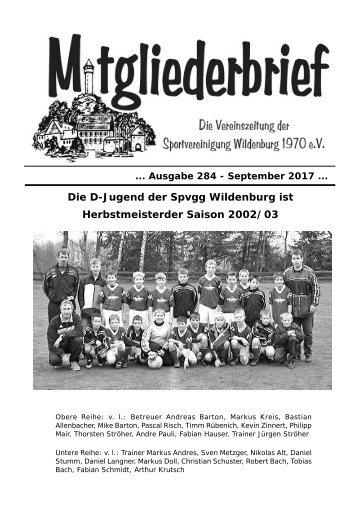 Ausgabe 284 - September 2017