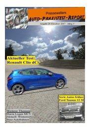 Clio im Auto-Praxistest-Report 28