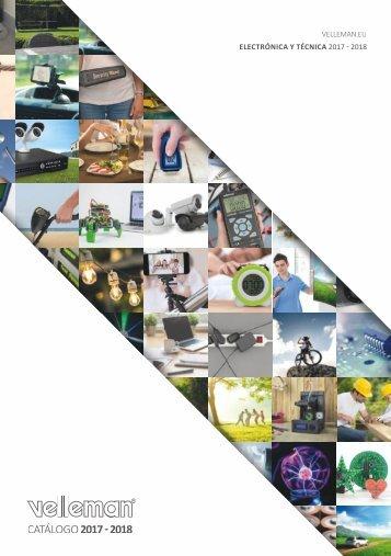 Catálogo Velleman Electrónica & Técnica 2017-2018 - ES