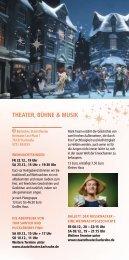 Weihnachtsstadt Karlsruhe - Theater, Bühne und Musik