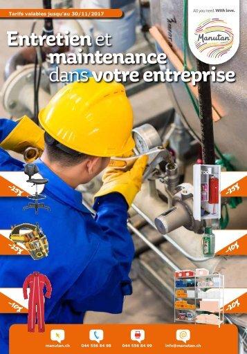 Entretien et maintenance dans votre entreprise