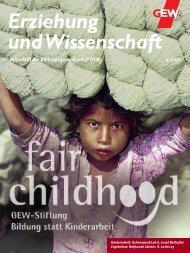 Zeitschrift der Bildungsgewerkschaft GEW 4/2011