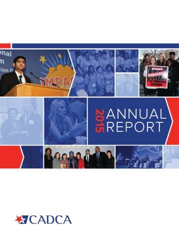 CADCA 2015 Annual Report