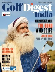 Golf Digest India - October 2017