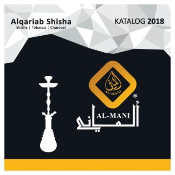 Alqariab Shisha Katalog 2018