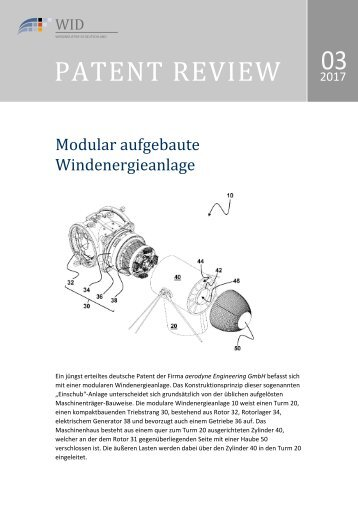 Patent Review 03/2017