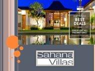 Villa rental Seminyak