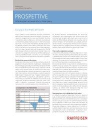 L'attuale tema d'investimento - Raiffeisen