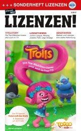 planet toys Sonderheft LIZENZEN! 2/17