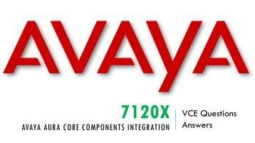 7120X VCE Questions Dumps