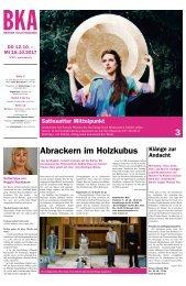 Berner Kulturagenda 2017 N° 40